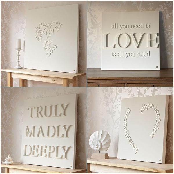 Canvas/wall Art – Mod Podge Rocks – Mod Podge Crafts Diy, Blogger Pertaining To Love Canvas Wall Art (Image 7 of 20)