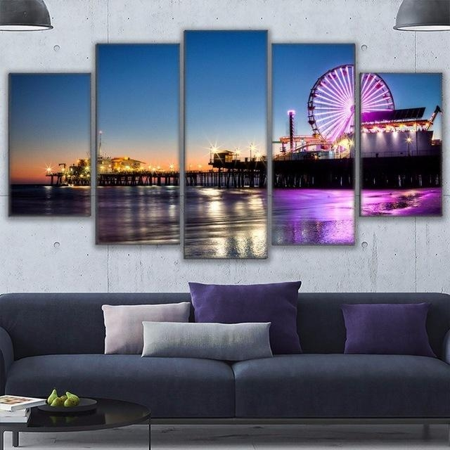 20 photos los angeles canvas wall art wall art ideas for Home decor los angeles