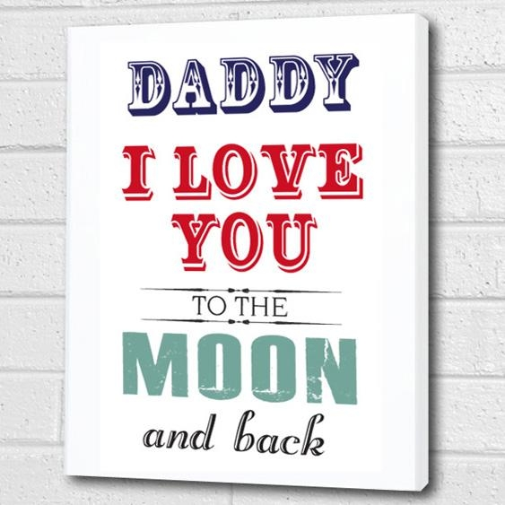 Canvas Wall Art Prints | Personalised Word Art | Childrens Canvas In Custom Quote Canvas Wall Art (View 13 of 20)