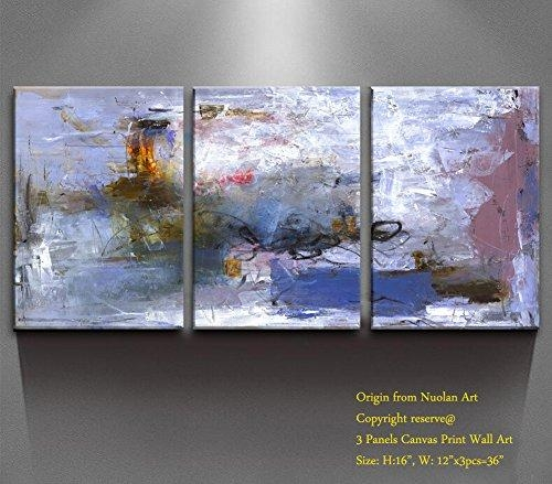 """Canvas Wall Painting """" Abstract Nature"""" Canvas Prints Modern Throughout Abstract Nature Canvas Wall Art (Image 5 of 20)"""
