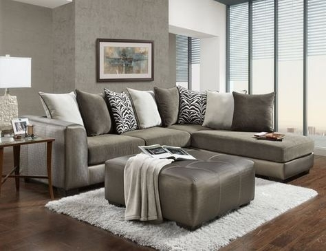 Cape Town 3 Piece Living Room | Cocktail Ottoman, Upholstery And For Kanes Sectional Sofas (Image 3 of 10)