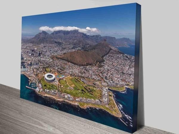 Cape Town South Africa City Canvas Prints Wall Art Photo Pertaining To Cape Town Canvas Wall Art (Image 8 of 20)