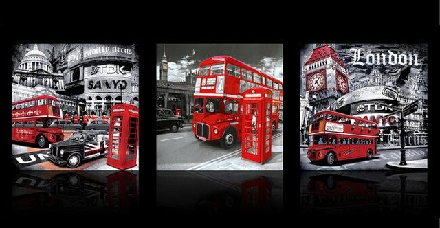 Captivating 50+ London Wall Art Design Decoration Of Decoration Pertaining To Canvas Wall Art Of London (Image 9 of 20)
