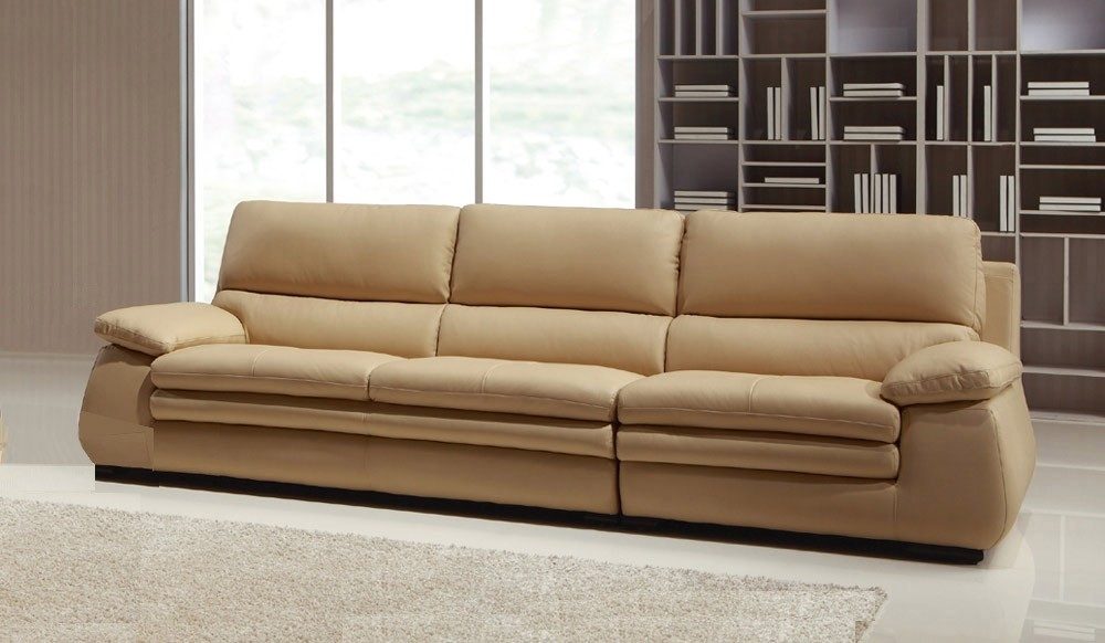 Carleto Luxury Leather Sofa – 4 Seater – High Quality – Delux Deco Within Four Seater Sofas (Image 3 of 10)