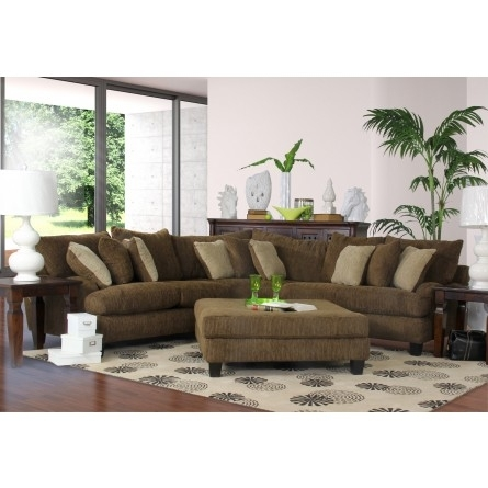 Carlton Windfall Camouflage Sectional – Sofa, Sectional, Living Room Pertaining To Gallery Furniture Sectional Sofas (Image 3 of 10)