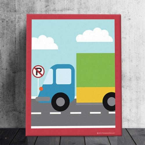 Cars | Brands | Pickleberry Kids Intended For Cars Theme Canvas Wall Art (Image 6 of 20)