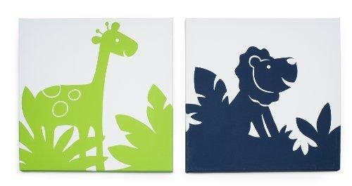 Carter's Safari Sky 2 Piece Canvas Wall Artkids Line, Http In Kidsline Canvas Wall Art (Image 5 of 20)