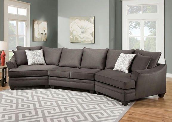 Casa Gray 3 Pc (Image 1 of 10)