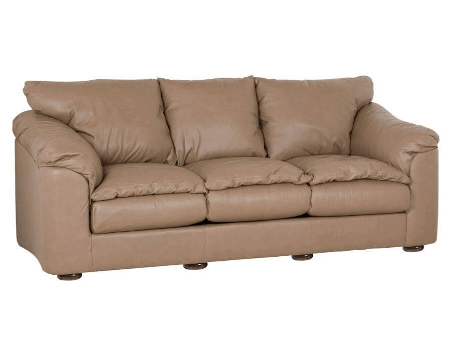 Casual Leather Sofa | Classic Leather Oregon Sofa 568 With Casual Sofas And Chairs (Image 3 of 10)