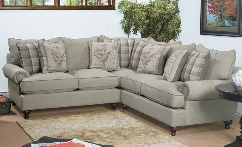 Casual Sectional Sofa From The Paula Deen Home Collection (Image 2 of 10)