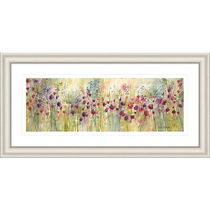 Catherine Stephenson – Spring Floral Panel Framed Print, (View 10 of 20)