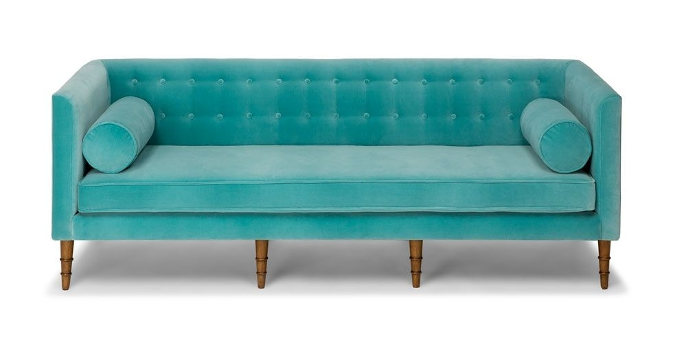 Celosia Oahu Aqua Sofa | Chairs & Sofas | Pinterest | Oahu, Aqua And With Regard To Aqua Sofas (View 3 of 10)