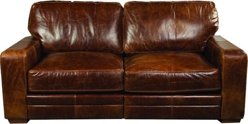 Cerato Leather Sofa Three Seater Monaco Range Aniline Leather Sofa Throughout Aniline Leather Sofas (View 6 of 10)