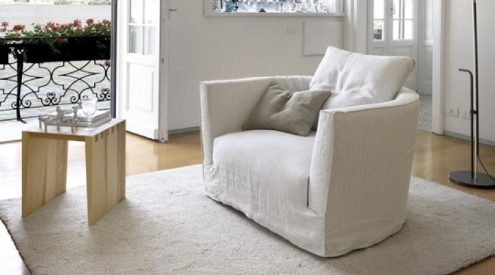Chairs Designed For Comfort | Home Designing For White Sofa Chairs (Image 5 of 10)