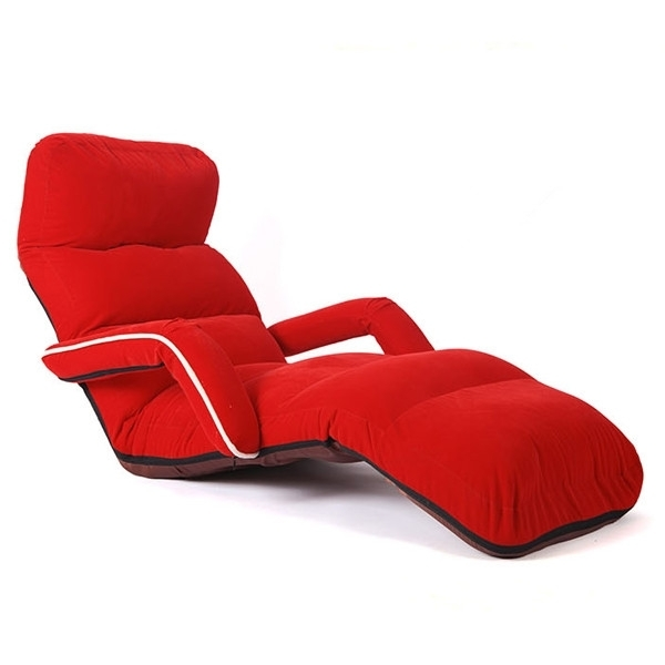 Chaise Lounge Chairs For Bedroom Adjustable Foldable Soft Suede Regarding Soft Sofas (Image 3 of 10)