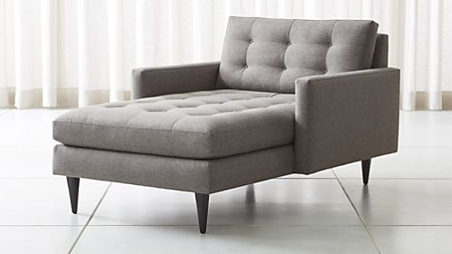 Chaise Lounge Sofas And Chairs | Crate And Barrel Inside Lounge Sofas And Chairs (Image 4 of 10)