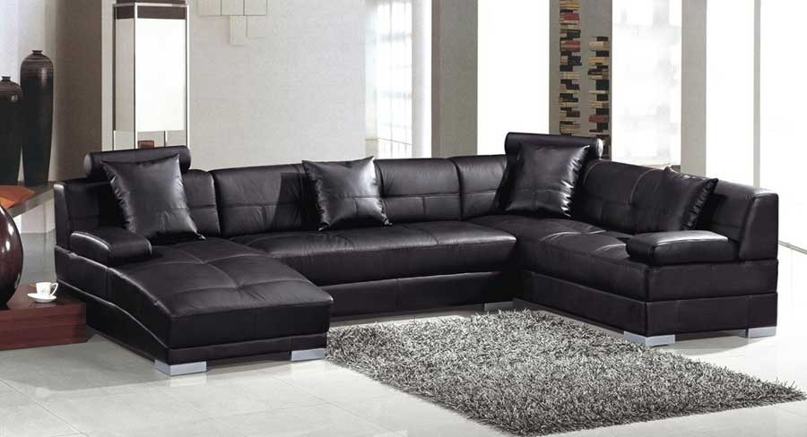 Chaise Sofa Sectional – 100 Images – Black Brown Clubber Sleeper For Long Chaise Sofas (View 8 of 10)