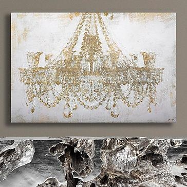 Chandelier Diamond Dust | Chandeliers And Art Art Inside Chandelier Canvas Wall Art (Image 3 of 20)