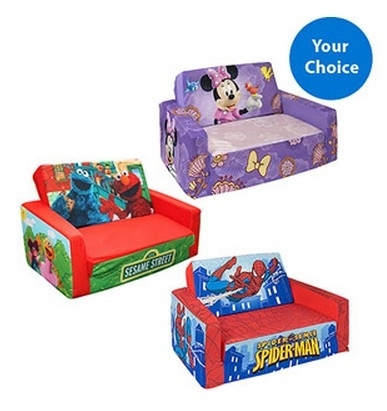 Character Flip Open Sofa For Kids Just $ (Image 6 of 10)