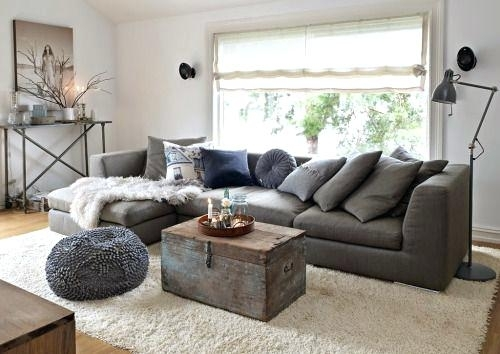 Charcoal Grey Sofa | Adrop Regarding Charcoal Grey Sofas (Image 3 of 10)