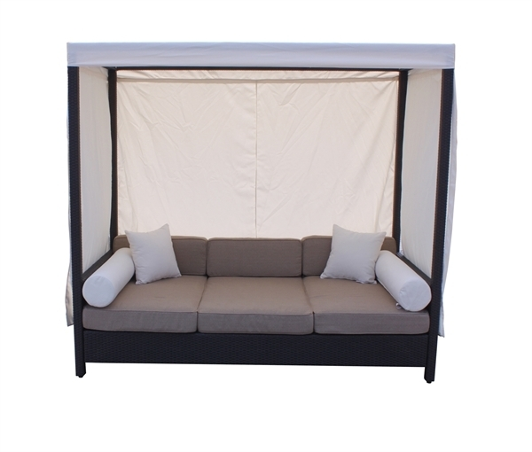 Charming Daybed With Canopy Household Gallery Daybed Sofa With Intended For Outdoor Sofas With Canopy (Image 4 of 10)