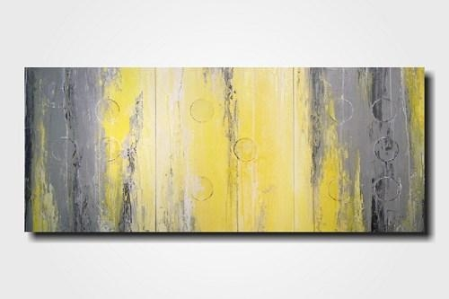 Charming Paintings Wall Art Ideas – Wall Art Design With Yellow And Grey Abstract Wall Art (View 9 of 20)