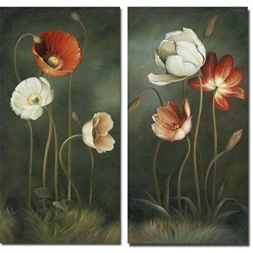 Cheap 2 Canvas Art, Find 2 Canvas Art Deals On Line At Alibaba Pertaining To Abstract Floral Canvas Wall Art (Image 6 of 20)