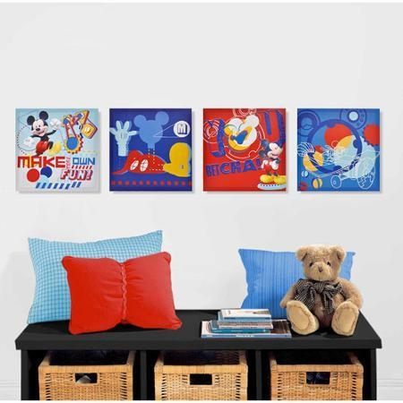 Cheap Mickey Mouse Wall Art, Find Mickey Mouse Wall Art Deals On Within Mickey Mouse Canvas Wall Art (Image 6 of 20)