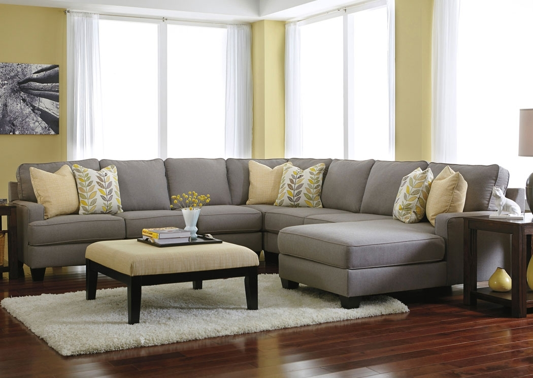 Chelsea 4 Piece Sectional | Jennifer Convertibles, Sofa Sofa And Arms Intended For Dufresne Sectional Sofas (Photo 9 of 10)