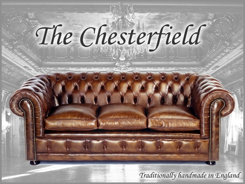 Chesterfield Sofas, Chairs, Leather, Bespoke Made In England – A1 Within Chesterfield Sofas And Chairs (Image 5 of 10)