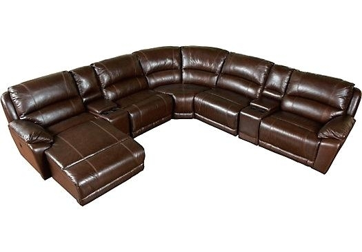 Cindy Crawford Leather Sofa Attractive Sectional Sofa With Regarding The Brick Sectional Sofas (Image 3 of 10)