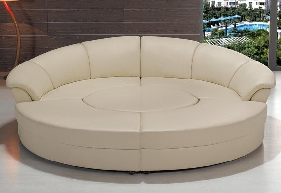Circle Sectional Sofa – Foter Within Circle Sofas (Image 2 of 10)