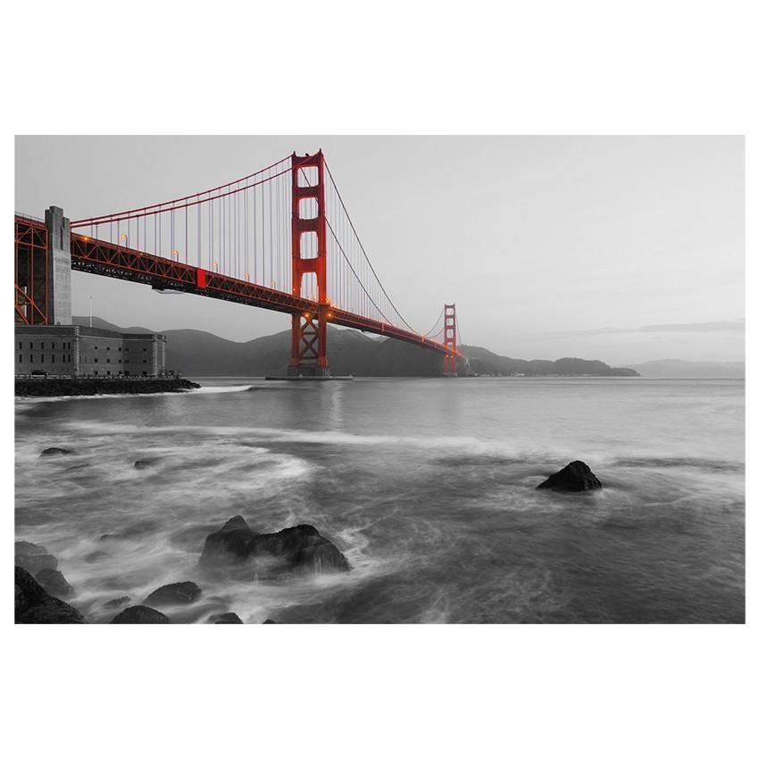 City Golden Gate Print | Wall Art | Jysk Canada Within Jysk Canvas Wall Art (Image 4 of 20)