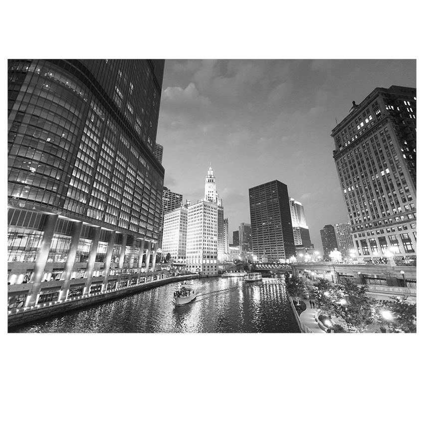 City Lake Print | Wall Art | Jysk Canada Intended For Jysk Canvas Wall Art (Image 5 of 20)