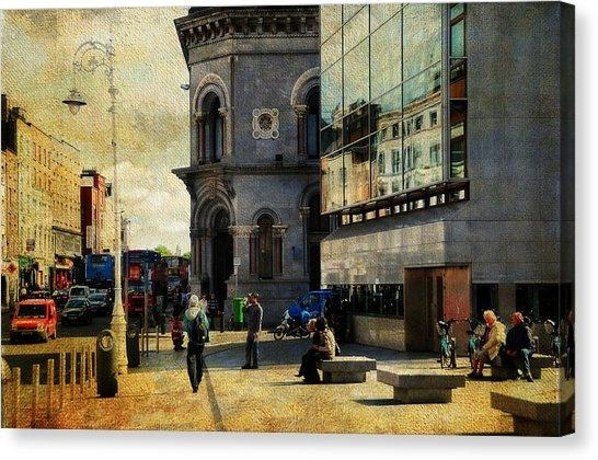 City Of Dublin Canvas Prints (Page #2 Of 19) | Fine Art America Inside Dublin Canvas Wall Art (View 5 of 20)