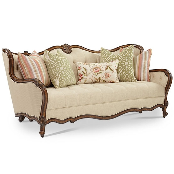 Classic Living Sofa Design Kks 004 | Living Room Furniture Regarding Classic Sofas (Image 3 of 10)