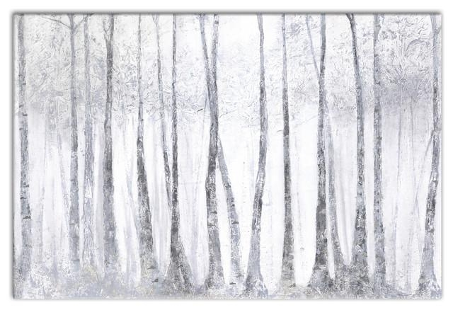 Classy 10+ Tree Canvas Wall Art Decorating Inspiration Of 16×24In Within Birch Trees Canvas Wall Art (View 11 of 20)