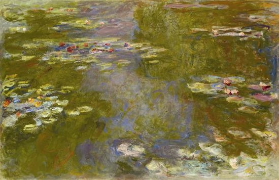 Claude Monet Canvas Painting Lotus Flower Cheap Art Picture Home Intended For Monet Canvas Wall Art (Image 6 of 20)