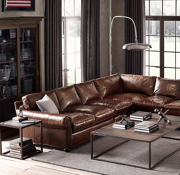 Cloud Modular Sectionals Rh Interiors Furniture Pinterest Pertaining Intended For Restoration Hardware Sectional Sofas (Image 2 of 10)