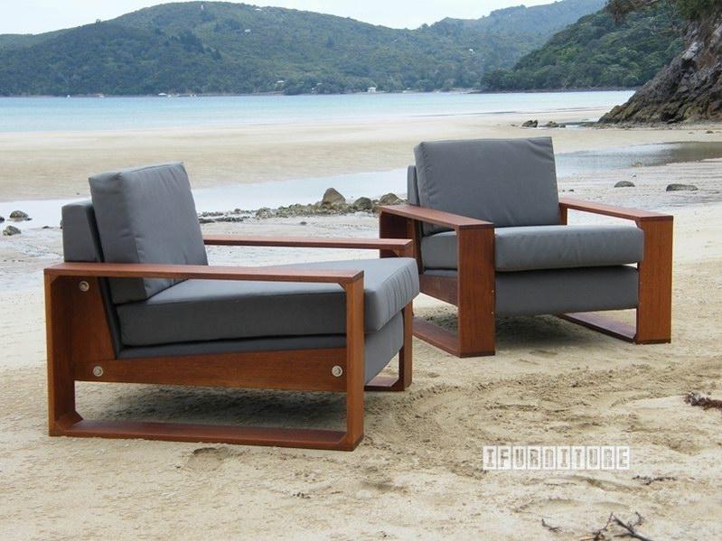 Coastal Corner Sofa *nz Made, Marine Grade Outdoor , Outdoor Throughout Outdoor Sofa Chairs (Image 4 of 10)