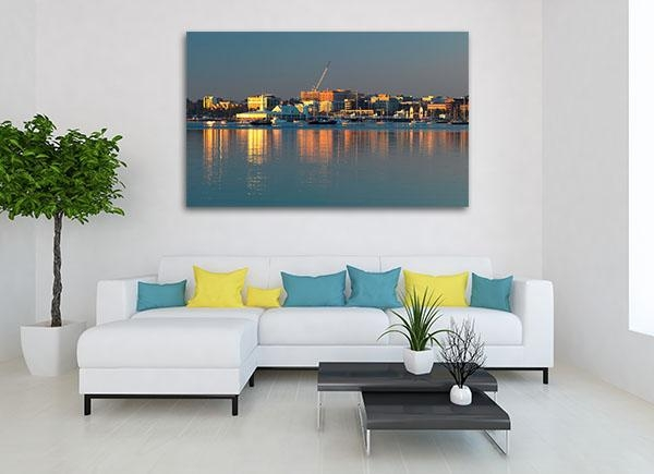 Coastline Geelong Art Print | Buy Colourful Canvas Online Inside Geelong Canvas Wall Art (Image 9 of 20)