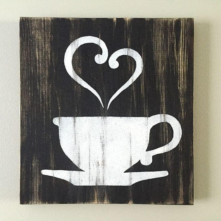 Coffee Cup Themed Kitchen Decor – Coffee Themed Kitchen Decor In Coffee Canvas Wall Art (Image 10 of 20)