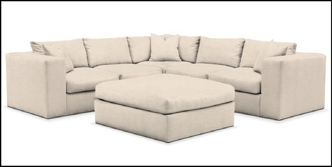 Collin Comfort 6 Piece Sectionalvalue City 2018 / 2019 | Home With Value City Sectional Sofas (Image 2 of 10)