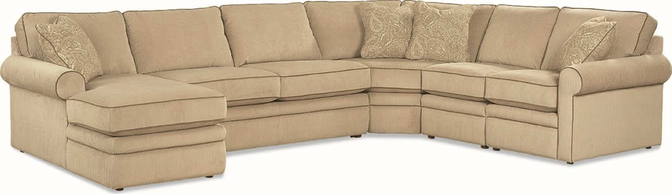 Collins Sectional Sofa – Town & Country Furniture Within La Z Boy Sectional Sofas (Image 3 of 10)