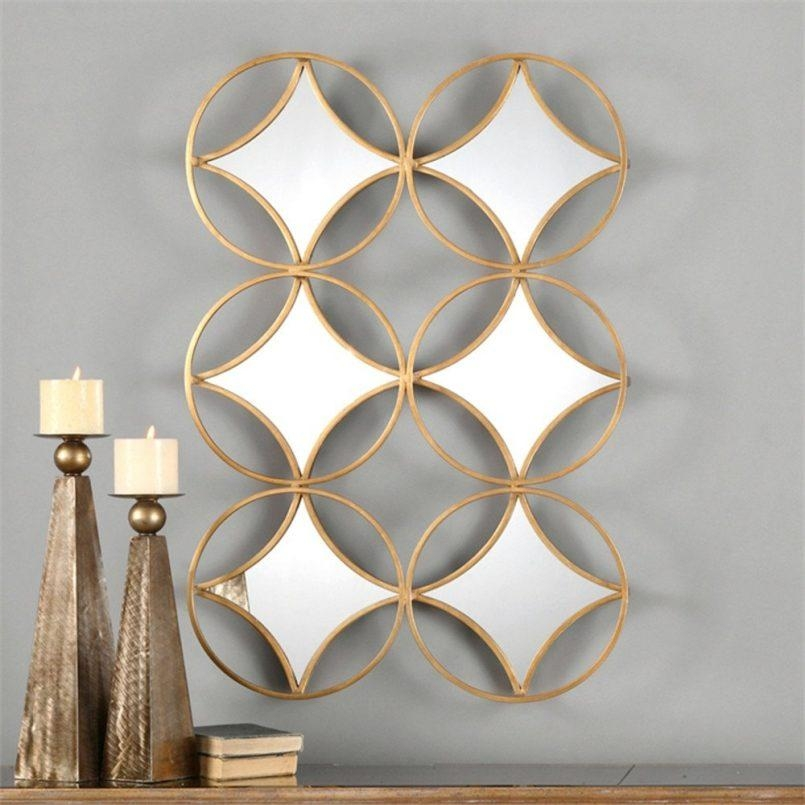 Colors : Geometric Modern Metal Abstract Wall Art As Well As In Abstract Geometric Metal Wall Art (Image 4 of 20)