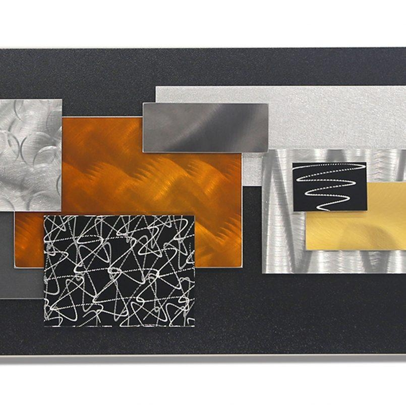 Colors : Geometric Wall Art Canvas As Well As Geometric Wall Art Throughout Geometric Modern Metal Abstract Wall Art (View 13 of 20)