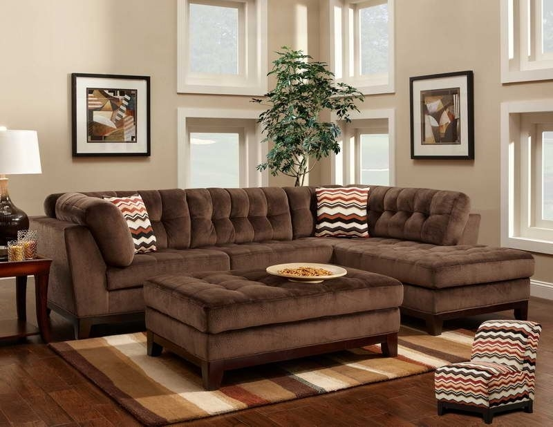 Comfortable Large Sectional Sofas : Furnitures Living Room Elegant Regarding Elegant Sectional Sofas (Image 5 of 10)