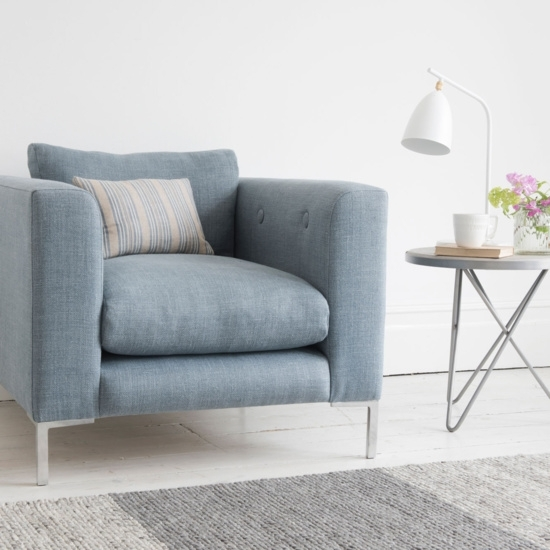 Comfy Handmade Armchairs, Love Seats & Cute Chairs | Loaf In Sofa Arm Chairs (Image 2 of 10)