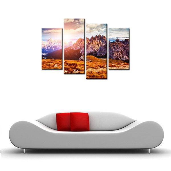 Competitive Price For Hd Modern Canvas Prints Mountain Peak Home For Cape Town Canvas Wall Art (Image 9 of 20)