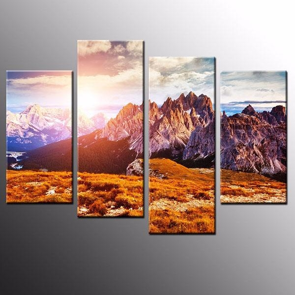 Competitive Price For Hd Modern Canvas Prints Mountain Peak Home Within Cape Town Canvas Wall Art (Image 11 of 20)